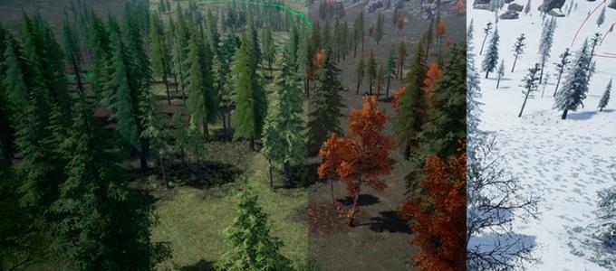 погода и сезоны в игре